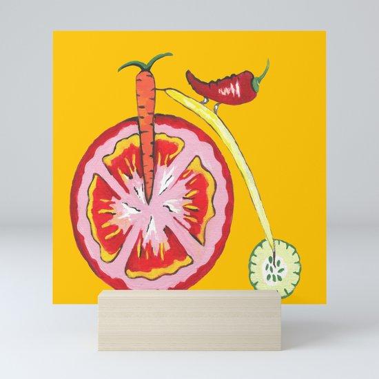 Kitchen Vegetable Art by kathleensartoris