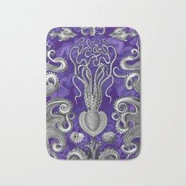 The Kraken (Purple - No Text) Bath Mat