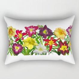 Display of daylilies I Rectangular Pillow