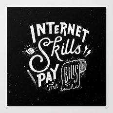 Pay the Bills Canvas Print