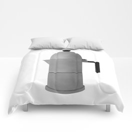 Cupole by Alessi. Vintage Italian coffee maker. Comforters