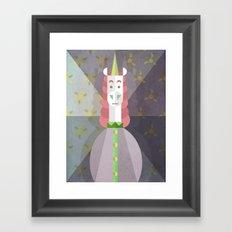 Oh So Unicorny Framed Art Print