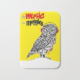 More music, less muggles Bath Mat