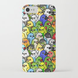 Too Many Birds!™ Bird Squad Classic iPhone Case