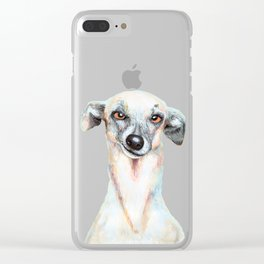 Just Dog Clear iPhone Case