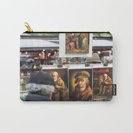 Paris Montmartre painting Carry-All Pouch