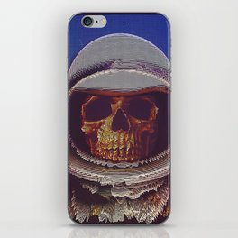 At A Certain Distance In space Or Time iPhone Skin