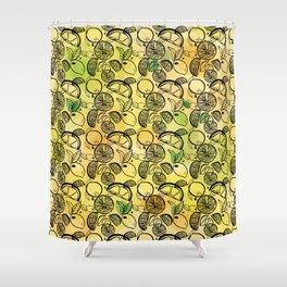 Lemon Lime Shower Curtain