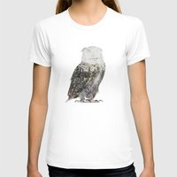andreas preis T-shirts featuring Arctic Owl by Andreas Lie