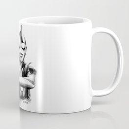 Waterbrushed Robot Hero Coffee Mug
