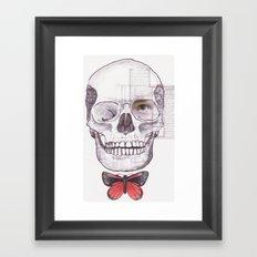EFÍMERO Framed Art Print