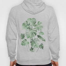 Delicate Monstera Green #society6 Hoody