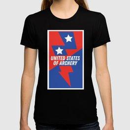 UNITED STATES of ARCHERY T-shirt