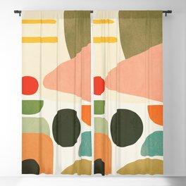 Modern Abstract Art 71 Blackout Curtain