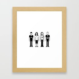 Rage Against the Machine Framed Art Print