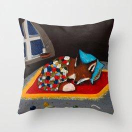Sov Gott Throw Pillow