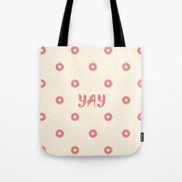 YAY Doughnuts Tote Bag