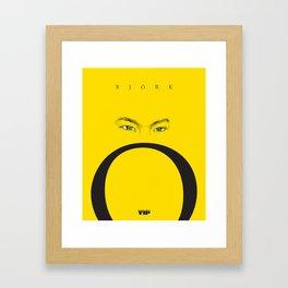 Björk by VIP Framed Art Print