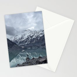 snow capped Stationery Cards