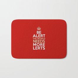 BE ALERT! Bath Mat