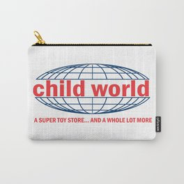 Child World Vintage Toy Store Carry-All Pouch
