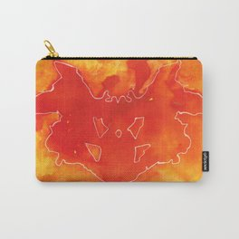 Natural footprint Carry-All Pouch