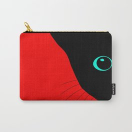 Cats Whiskers Carry-All Pouch