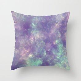 Irridescent Shimmer Throw Pillow