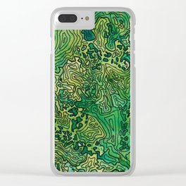 The Cascades Clear iPhone Case