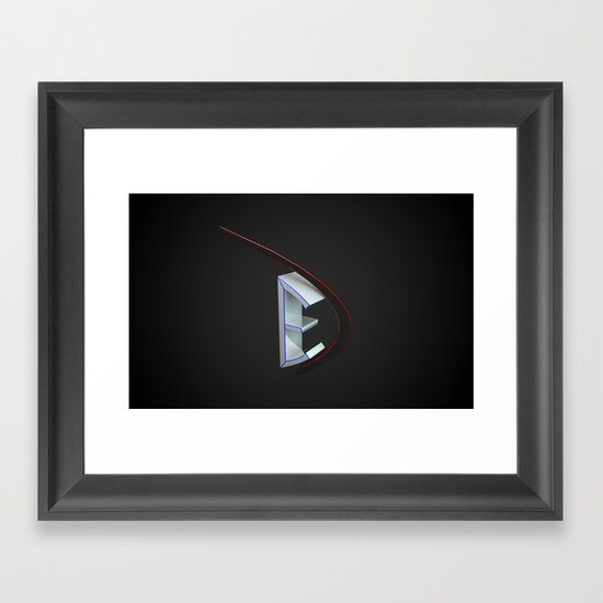 Logo edprodesign Framed Art Print