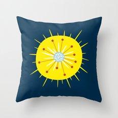 Radiolarian Throw Pillow