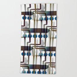 Abacus II Beach Towel