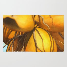 Golden Coconuts Rug