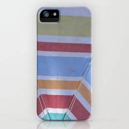 Summer in Spain with many colors iPhone Case
