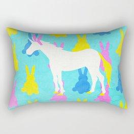 Bunny Unicorn Rectangular Pillow
