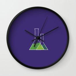 erlenmeyer flask Wall Clock