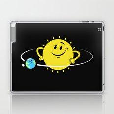 The Whole World Revolves Around Me Laptop & iPad Skin