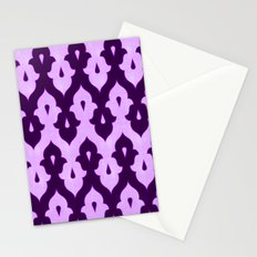 Mauresque Counterchange (Lilac) Stationery Cards