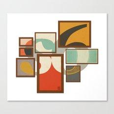 S6 Tee - Frames Canvas Print