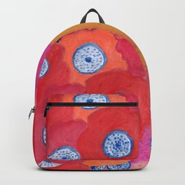 Hippy flowers watercolor Backpack