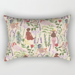 Aromatherapy Garden Rectangular Pillow