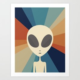 Been Here the Whole Time Art Print