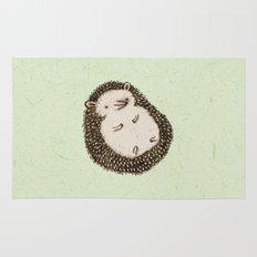 Plump Hedgehog Rug