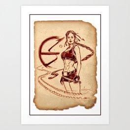 Tomb Raider Challenge 02 Art Print
