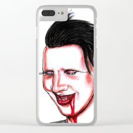 Manson Clear iPhone Case