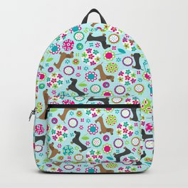 Dachshund Garden Party Backpack