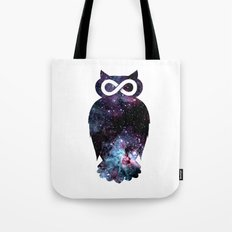 Super Cosmic Owlfinity Tote Bag