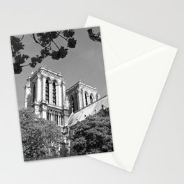 Notre Dame in Spingtime Stationery Cards