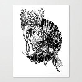 Rudolph Sparrow Canvas Print