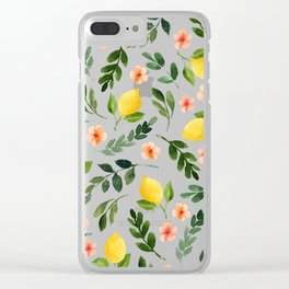 Lemon Grove Clear iPhone Case